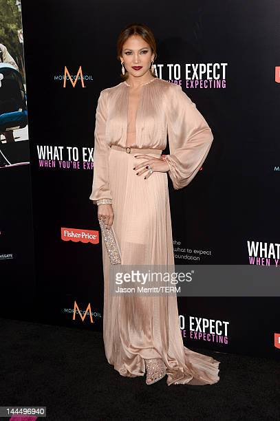 "Actress Jennifer Lopez arrives at the premiere of Lionsgate's ""What To Expect When You're Expecting"" held at Grauman's Chinese Theatre on May 14,..."