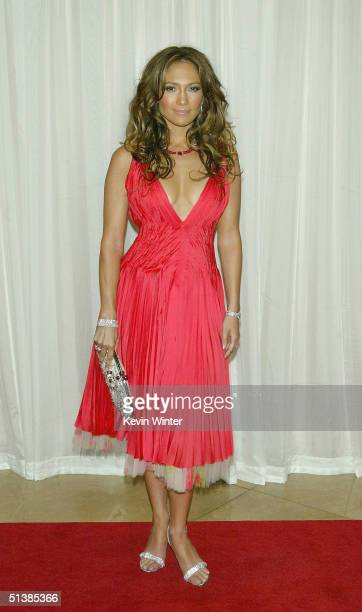 Actress Jennifer Lopez arrives to be honored at Noche de Ninos a benefit for Childrens Hospital of Los Angeles at the Beverly Hilton Hotel on October...