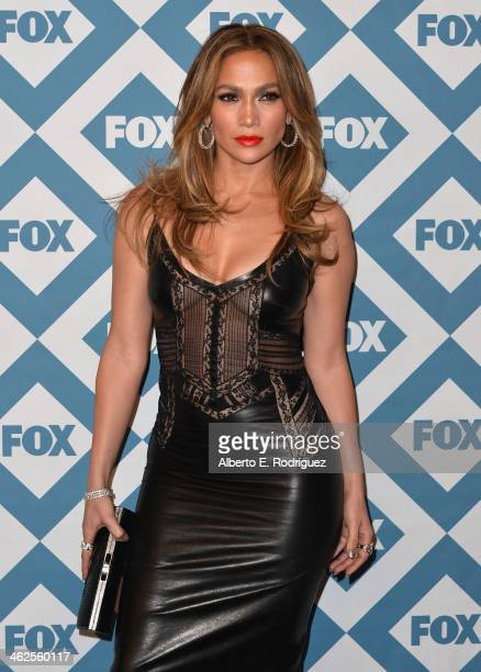 Actress Jennifer Lopez arrives to the 2014 Fox AllStar Party at the Langham Hotel on January 13 2014 in Pasadena California