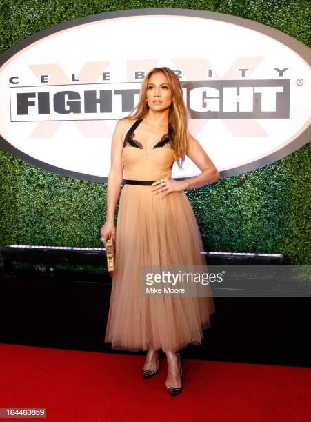 Actress Jennifer Lopez attends Muhammad Ali's Celebrity Fight Night XIX at JW Marriott Desert Ridge Resort & Spa on March 23, 2013 in Phoenix,...