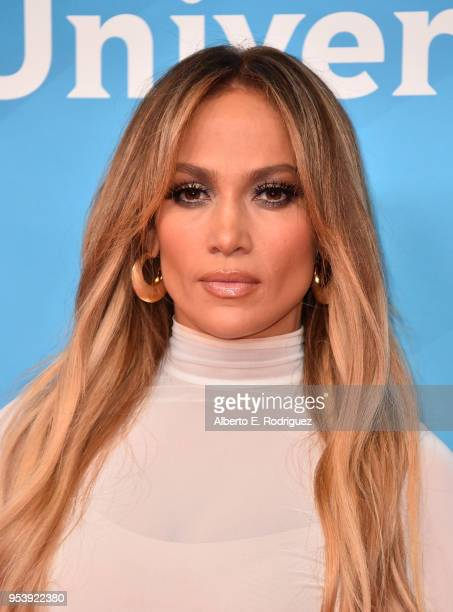 Actress Jennifer Lopez attends NBCUniversal's Summer Press Day 2018 at The Universal Studios Backlot on May 2 2018 in Universal City California