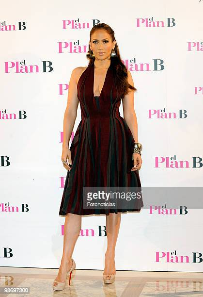 Actress Jennifer Lopez attends 'Plan B' photocall, at Villamagna Hotel on April 27, 2010 in Madrid, Spain.