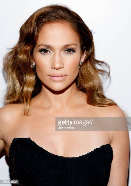 Actress Jennifer Lopez attends Scott Barnes' About Face book launch party at Provocateur at The Hotel Gansevoort on January 20 2010 in New York City