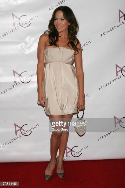 Actress Jennifer Lopez attends the 10th Annual Ace Awards Gala presented by the Accessories Council at Cipriani October 30 2006 in New York City