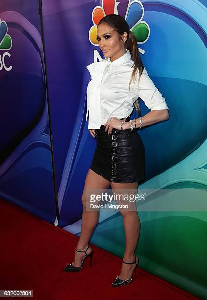 Actress Jennifer Lopez attends the 2017 NBCUniversal Winter Press Tour Day 2 at the Langham Hotel on January 18 2017 in Pasadena California