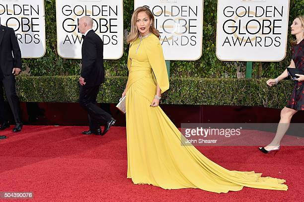 Actress Jennifer Lopez attends the 73rd Annual Golden Globe Awards held at the Beverly Hilton Hotel on January 10 2016 in Beverly Hills California