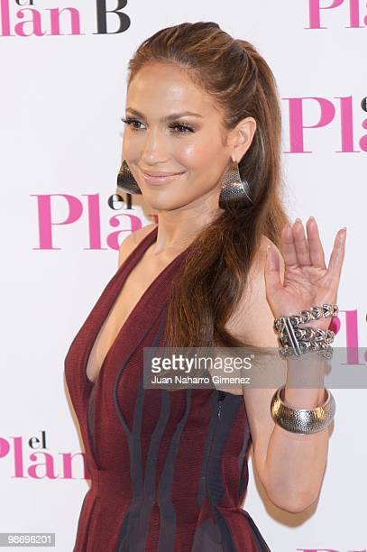 Actress Jennifer Lopez attends 'The Back-Up Plan' photocall at the Villamagna Hotel on April 27, 2010 in Madrid, Spain.