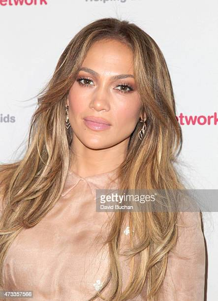 Actress Jennifer Lopez attends the Jennifer Lopez and Marie Osmond launch of the Put Your Money Where The Miracles Are campaign at Avalon on May 14...