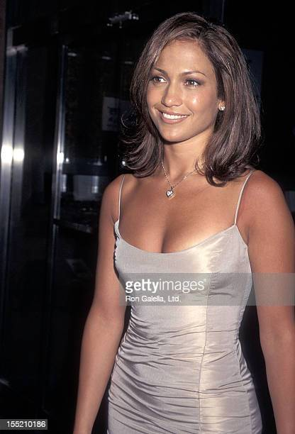 Actress Jennifer Lopez attends the Out of Sight New York City Premiere on June 24 1998 at Chelsea West Cinemas in New York City