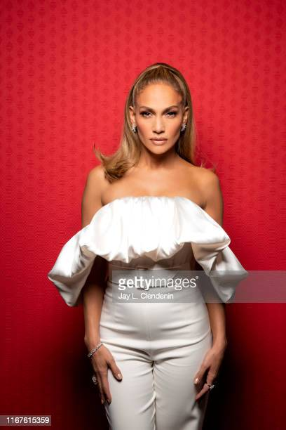 Actress Jennifer Lopez from 'Hustlers' is photographed for Los Angeles Times on September 8 2019 at the Toronto International Film Festival in...