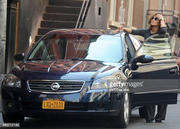 Actress Jennifer Lopez is seen on August 25 2015 in New York City