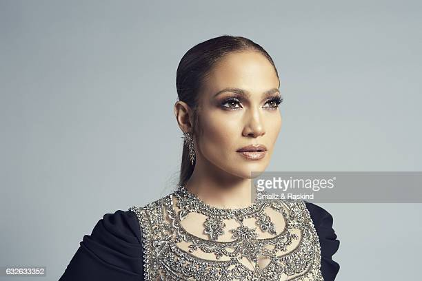 Actress Jennifer Lopez poses for a portrait at the 2017 People's Choice Awards at the Microsoft Theater on January 18 2017 in Los Angeles California