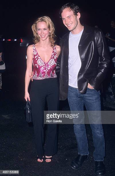 Actress Jennifer Love Hewitt and actor Patrick Wilson attend the 10th Annual Boathouse Rock Dance Party to Benefit amfAR on June 11 2001 at the Loeb...