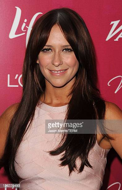 Actress Jennifer Love Hewitt arrives at 3rd Annual Variety's Power of Women Event presented by Lifetimeon at the Beverly Wilshire Four Seasons Hotel...