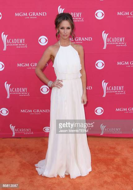 Actress Jennifer Love Hewitt arrives at the 44th annual Academy Of Country Music Awards held at the MGM Grand on April 5 2009 in Las Vegas Nevada