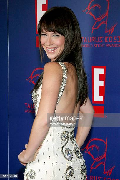 Actress Jennifer Love Hewitt arrives at the 5th Annual Taurus World Stunt Awards on September 25 2005 in Los Angeles California