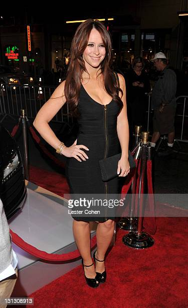 """Actress Jennifer Love Hewitt arrives at the AFI Fest 2011 Opening Night Gala World Premiere Of """"J. Edgar"""" at Grauman's Chinese Theatre on November 3,..."""