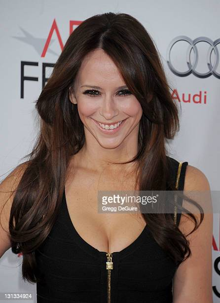 Actress Jennifer Love Hewitt arrives at the AFI FEST Opening Night Gala Premiere of J Edgar at Grauman's Chinese Theatre on November 3 2011 in...