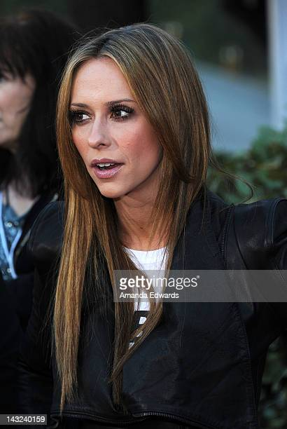 Actress Jennifer Love Hewitt arrives at the Band From TV's 2nd Annual Block Party On Wisteria Lane at Universal Studios Backlot on April 21 2012 in...