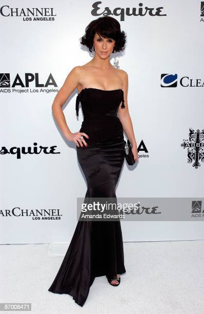 Actress Jennifer Love Hewitt arrives at The Envelope Please APLA/Esquire Magazine Oscar Party held at the Abbey on March 5 2006 in Beverly Hills...