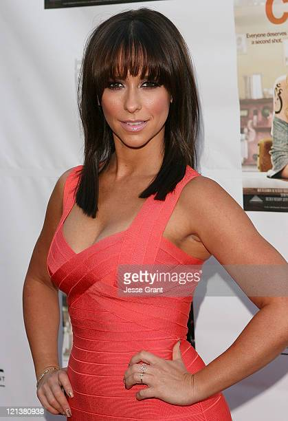 Actress Jennifer Love Hewitt arrives at the Los Angeles Premiere of 'Cafe' at Laemmle Sunset 5 Theatres on August 18 2011 in West Hollywood California