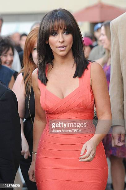 Actress Jennifer Love Hewitt arrives at the premiere of Maya Entertainment's Cafe on August 18 2011 in Los Angeles California