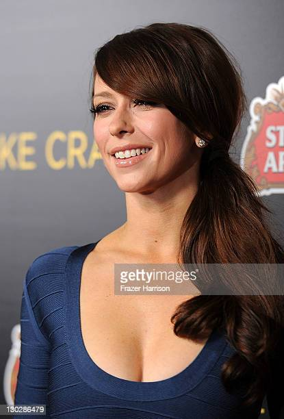 Actress Jennifer Love Hewitt arrives at the Premiere of Paramount Pictures' Like Crazy held at the Egyptian Theater on October 25 2011 in Los Angeles...