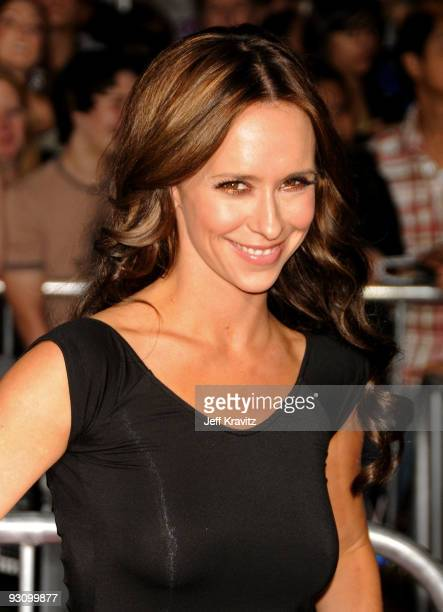 Actress Jennifer Love Hewitt arrives at 'The Twilight Saga New Moon' premiere held at the Mann Village Theatre on November 16 2009 in Westwood...