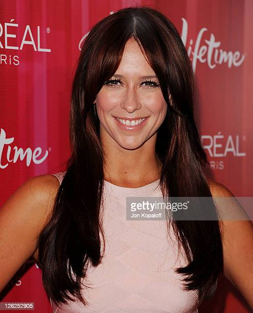 Actress Jennifer Love Hewitt arrives at Variety's 3rd Annual Power Of Women Luncheon at the Beverly Wilshire Four Seasons Hotel on September 23, 2011...