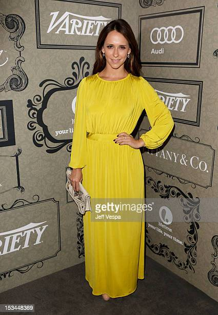 Actress Jennifer Love Hewitt arrives at Variety's 4th Annual Power of Women Event Presented by Lifetime at the Beverly Wilshire Four Seasons Hotel on...