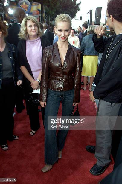 Actress Jennifer Love Hewitt arrives for the Rush Hour 2 Premiere held at the Mann's Chinese Theatre in Hollywood CA Thursday July 26 2001