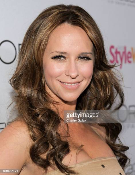 Actress Jennifer Love Hewitt arrives to 'A Night Of Red Carpet Style' hosted by People StyleWatch at Decades on January 27 2011 in Los Angeles...