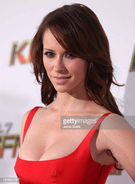 Actress Jennifer Love Hewitt attends 1027 KIIS FM's Jingle Ball at the Nokia Theatre LA Live on December 3 2011 in Los Angeles California
