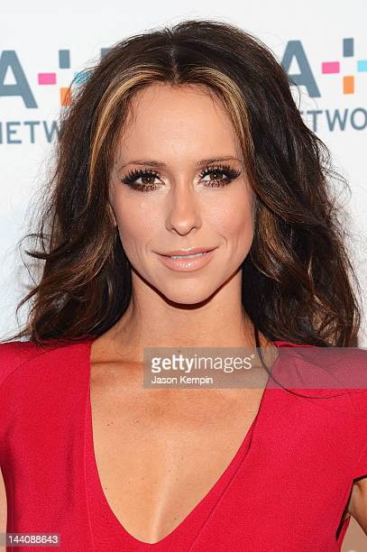 Actress Jennifer Love Hewitt attends AE Networks 2012 Upfront at Lincoln Center on May 9 2012 in New York City
