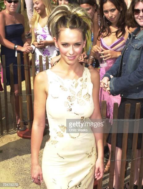Actress Jennifer Love Hewitt attends August 6 at the 2000 Teen Choice Awards in Santa Monica CA