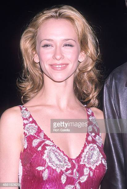 Actress Jennifer Love Hewitt attends the 10th Annual Boathouse Rock Dance Party to Benefit amfAR on June 11 2001 at the Loeb Boathouse Central Park...