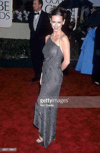 Actress Jennifer Love Hewitt attends the 57th Annual Golden Globe Awards on January 23 2000 at the Beverly Hilton Hotel in Beverly Hills California