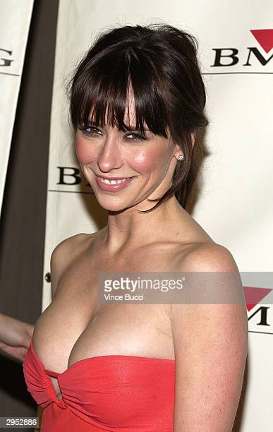 Actress Jennifer Love Hewitt attends the BMG PostGrammy Party following the 46th Annual Grammy Awards at the Avalon on February 8 2004 in Hollywood...