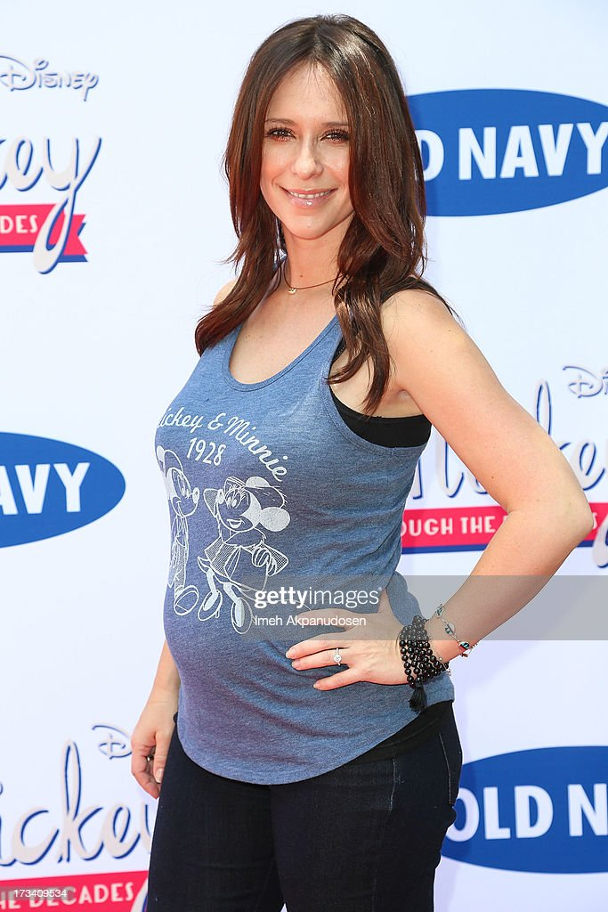 Actress Jennifer Love Hewitt attends the Old Navy & Disney's 'Mickey Through The Decades' Collection Celebration at Walt Disney Studios on July 13, 2013 in Burbank, California.