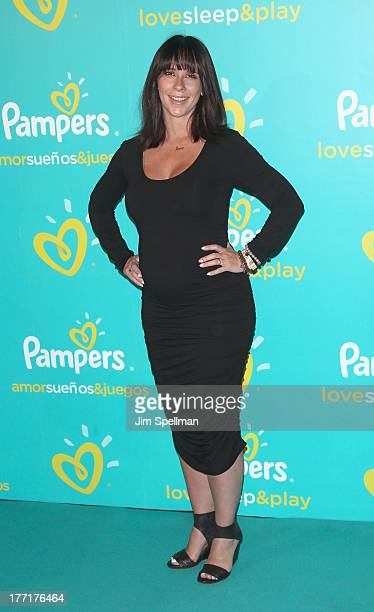 Actress Jennifer Love Hewitt attends the Pampers Love, Sleep & Play campaign launch at Vanderbilt Hall at Grand Central Terminal on August 21, 2013...
