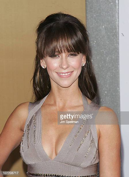 Actress Jennifer Love Hewitt attends the premiere of 'Sex and the City 2' at Radio City Music Hall on May 24 2010 in New York City
