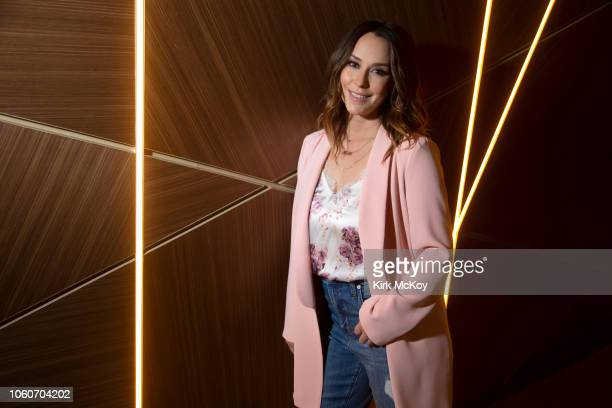 Actress Jennifer Love Hewitt is photographed for Los Angeles Times on October 15 2018 in Century City California PUBLISHED IMAGE CREDIT MUST READ...