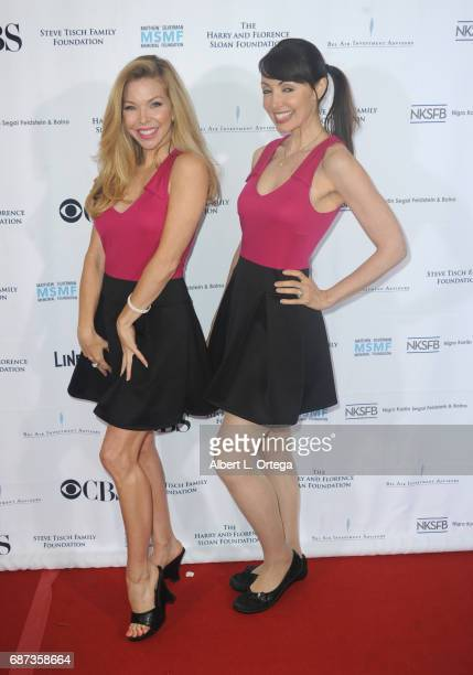 Actress Jennifer Lyons and Cherise Bangs at the 5th Annual Matthew Silverman Memorial Golf Classic held at El Caballero Country Club on May 22 2017...