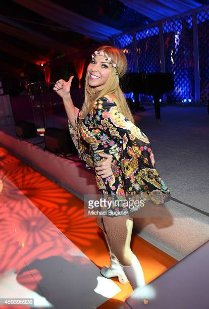 Actress Jennifer Lyons attends Goldie Hawn's inaugural 'Love In For Kids' benefiting the Hawn Foundation's MindUp program transforming children's...