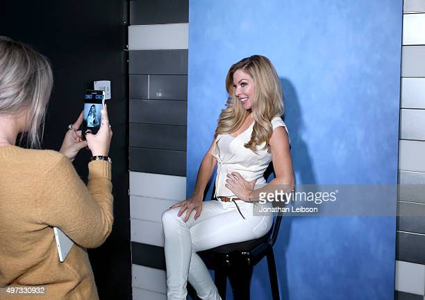 Actress Jennifer Lyons attends The Art of Elysium and Samsung Present a Cast QA and Screening of 'Can't Hardly Wait' at Samsung Studio LA on November...