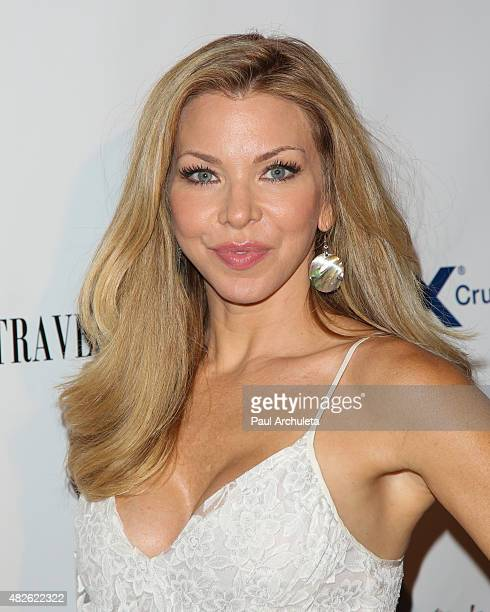 Actress Jennifer Lyons attends the Los Angeles Travel Magazine Endless Summer issue launch at Project on July 31 2015 in Los Angeles California