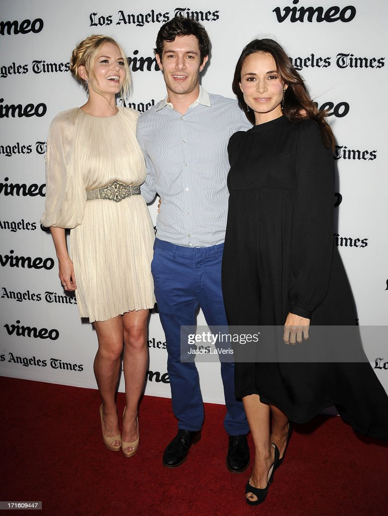 Actress Jennifer Morrison, actor Adam Brody and actress Mia Maestro attend the premiere of 'Some Girl(s)' at Laemmle NoHo 7 on June 26, 2013 in North Hollywood, California.