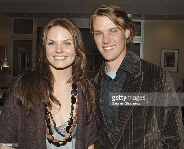 """Actress Jennifer Morrison and actor Jesse Spencer attend the """"House"""" TCA Cocktail Party at Fox Studios on January 15 Los Angeles, California."""