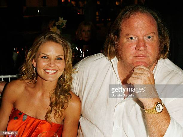 Actress Jennifer Morrison and John Carrabino attend the Nicola Maramotti Dinner on June 16 2008 in Los Angeles California