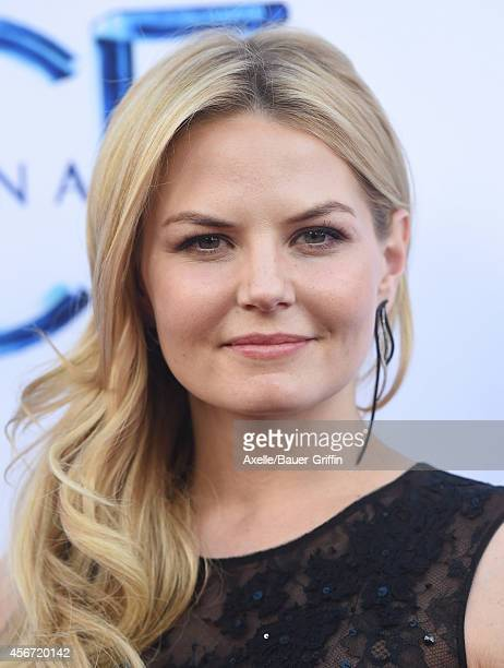 Actress Jennifer Morrison arrives at ABC's 'Once Upon A Time' Season 4 Red Carpet Premiere at the El Capitan Theatre on September 21 2014 in...
